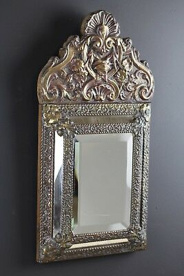 19th Century Continental Cushion Mirror