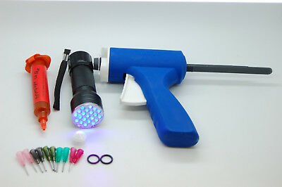 10Ml Fly Tying Light Uv,glue Gun, Nozzles,21 Uv Led Torch Set,uv Glue Set
