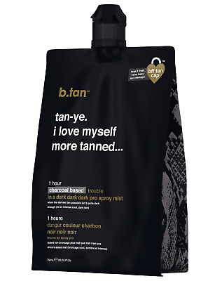 b.tan - tan-ye. i love myself more tanned - pro mist spray tan solution