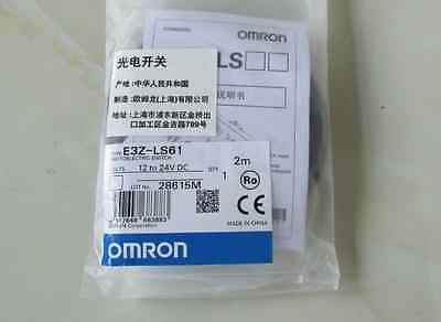 OMRON E3Z-LS61 Photoelectric Switch E3ZLS61 12-24VDC 2m New In Box