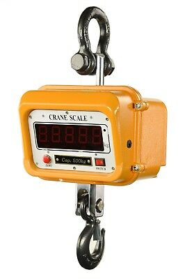 500kg Kranwaage digital LED-Display Ersatzakku Industriewaage Crane Scale 00737