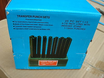 Transfer punch set metric & Imperial, save postage together