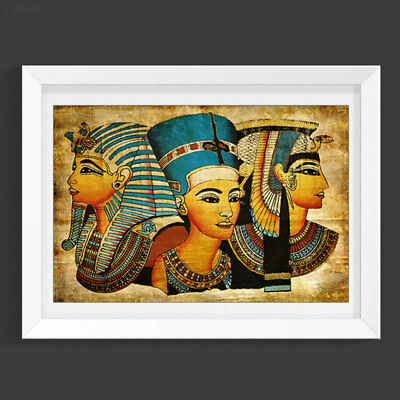 398C Retro Ancien Egyptian Murals Full Image Oil Painting Home Decor 40x60cm