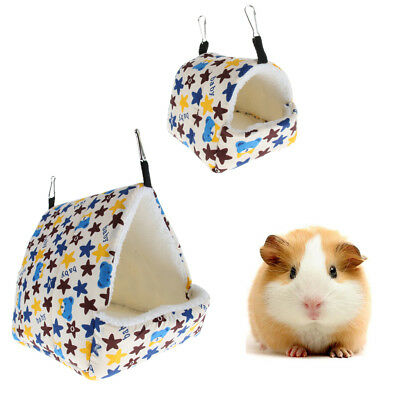 Syrian Hedgehog Hamster Toy House Cotton Nest STAR Hammock House/Hideout/Bed