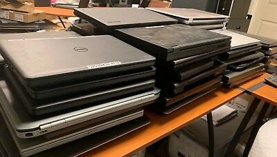 Lot of 69x Mixed Laptops Dell Precision 6800 HP EliteBook Lenovo Thinkpad *READ*