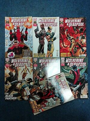 Wolverine And Deadpool Comic Collection