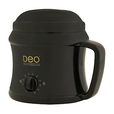 030452 Deo Professional 500cc Black  Wax Waxing Leg Body Heater Pot Warmer Analo