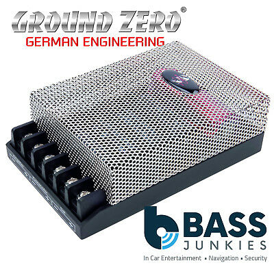 Ground Zero GZRX 2 Way Kick - 2 Way Crossover for Kick Woofer and Tweeters