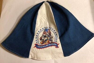 Walt Disney America On Parade Kids Hat. Patriotic Mickey Goofy Donald DS2