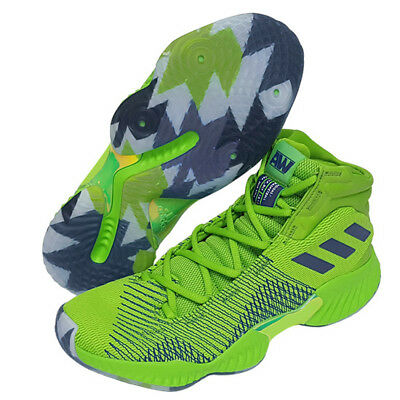 59fafae695b adidas Pro Bounce 2018 Men s Basketball Shoes NBA Casual Green Sports NWT  B41856