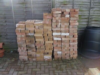Reclaimed Bricks Approximately 534 For Collection Only