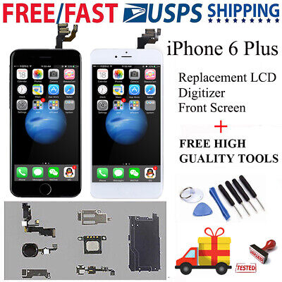 For iPhone 6s Plus Full LCD Touch Screen Replacement W/Button+Camera A1634 A1687