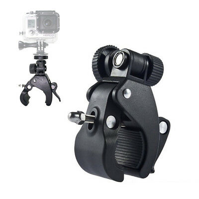 Bike Bicycle Handlebar Clip Roll Clamp Clip Mount Holder for Gopro Hero 4s 4 3 2