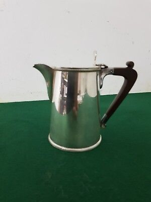 Quality Vintage EPNS Silver Plated 1 Pint Hot Water Jug with a Bakelite Handle