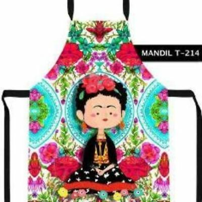 Frida Kahlo Apron Red Roses