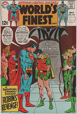 Worlds Finest # 184   Silver Age  Fn