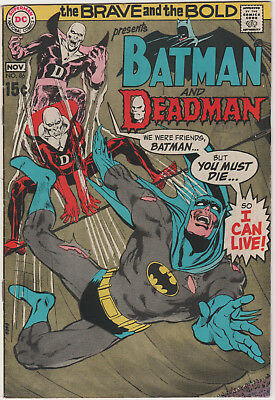 Brave And The Bold # 86 - Batman And Deadman    Bronze Age  Fn+
