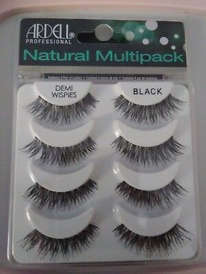 Ardell Demi Wispies Faux Cils Emballage Multiple 4 Paires de Cils