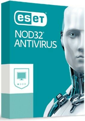ESET NOD32 Antivirus -  1PC / 1 Anno