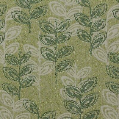 """Outdura Branch Fern Green Multiuse Outdoor Indoor Jacquard Fabric By Yard 55""""w"""