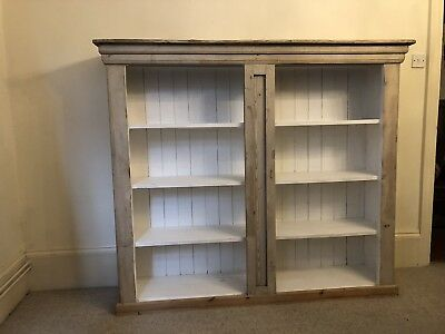 Pine And Painted (chalk) Bookshelves