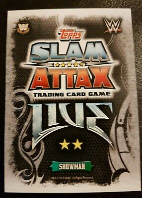 WWE Topps Slam Attax LIVE cards Pick and Choose 10 cards (BASE CARDS 81 - 369)