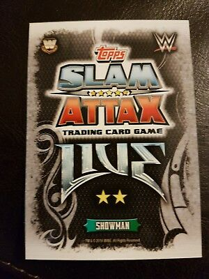 WWE Slam Attax LIVE cards. Choose 2 cards,  1 Champion / 1 Rival card for £1.50