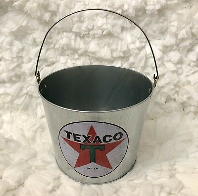 TEXACO Motor Oil Bucket With Handle Open Road Brands