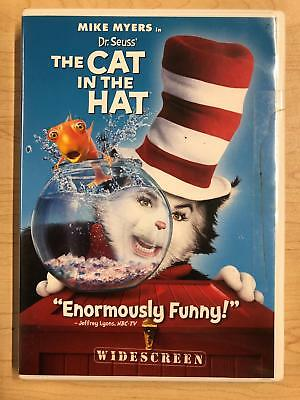 Dr. Seuss The Cat in the Hat (DVD, 2003, Widescreen) - E1014