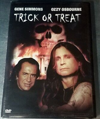 Trick or Treat ( DVD, 2003 )  Gene Simmons & Ozzy Osbourne / NTSC / Region 1