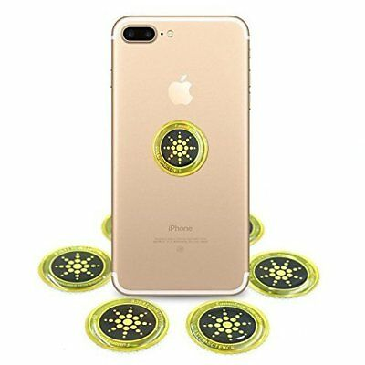 CLEARANCE Anti Radiation Shield Sticker with EMF Quantum Protection (6-pack)