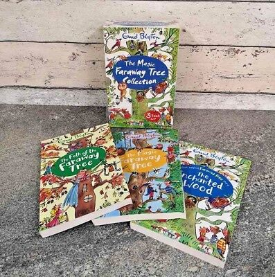 Enid Blyton The Magic Faraway Tree Collection Set Of 3 Books Reading Fiction New