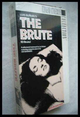 Luis Buñuel's THE BRUTE - 1952 - NEW / SEALED VHS / OUT-OF-PRINT / FREE SHIPPING