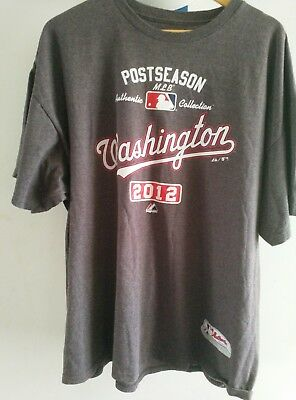 Washington Nationals MLB Baseball T Shirt 2XL 2012