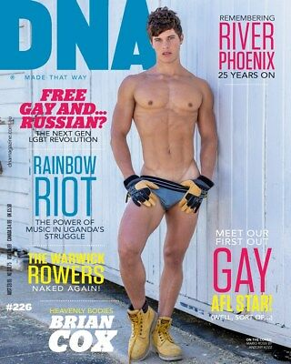 DNA Magazine #226 the Entertainment issue - latest one!! - gay interest