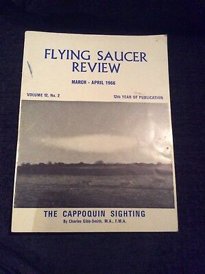 Flying Saucer Review Magazine March - April 1966 The Cappoquin Sighting