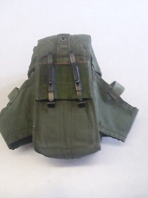 10 US Military OD Ammo Pouch Case s Alice Mag Pouch 3 Magazines good condition.