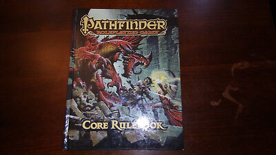 Pathfinder Core Rulebook by Jason Bulmahn (2009, Hardcover) 2nd printing