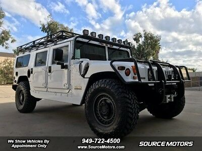 2000 H1 Wagon Hummer H1, Only 11K Miles, Roof Rack, Brush Guard, RIGID LED's, Turbo Diesel