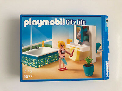 PLAYMOBIL MODERNES BADEZIMMER 5577 für Luxusvilla CityLife in OVP Bad
