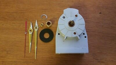 Vintage West German Electronic Clock Movement Sunburst Clock Etc NOS