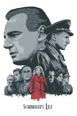 Schindler's List Art Print by Steven Holliday Limited Edition xx/60