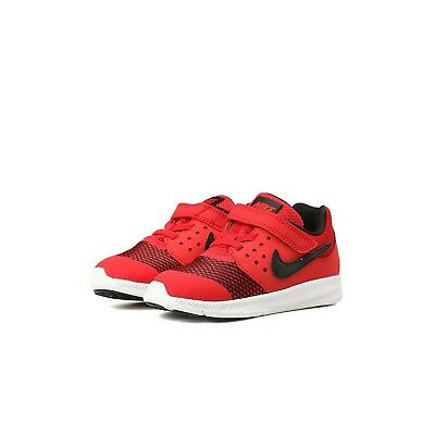 Red Nike Downshifter 7 Shoes Size 2Y 869970-600 BOYS