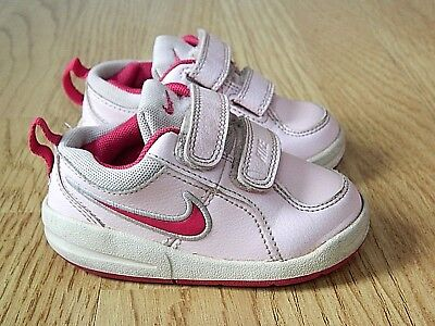 b5f0eb5a63c6 NIKE PICO 4 TDV Toddler Baby Girl s Trainers Pink Size 4.5 - £6.99 ...