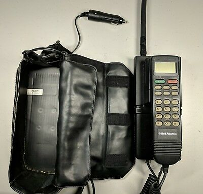 Bell Atlantic AUDIOVOX Model BC-65 Cellular Bag Phone