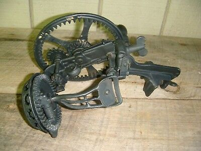 Antique 1878 Original Cast Iron Apple Peeler Made by Reading Pa. Hardware Co.
