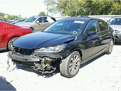 2015 Honda Accord Sport 2015 HONDA ACCORD  SPORT 2.4L I4 16V FWD AUTOMATIC SALVAGE DAMAGED REPAIRABLE