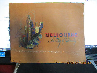 Out Of My Collection -Melbourne The City Of Beauty Circa 1930