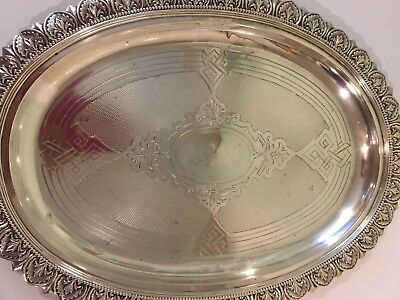 19th Century 800 Silver Tray -made by A. Kunne Altena- German Silver
