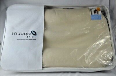 Snuggle Me Organic Cotton Sensory Lounger For Baby Sleeper Cover & Case